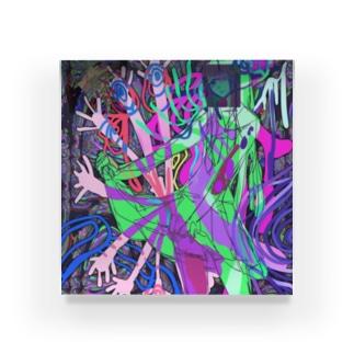 搾取!JK Acrylic Block