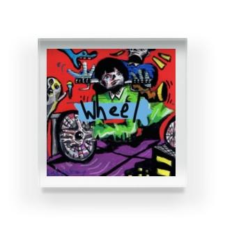 wheel Acrylic Block