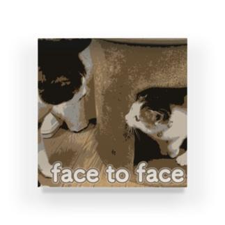 「面と向かって」 Acrylic Block