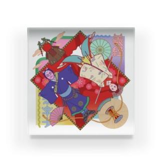 吉野山 Acrylic Block