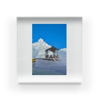 ジブリっぽい世界 Acrylic Block