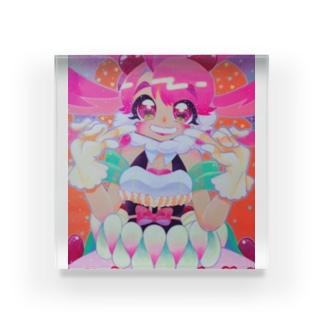 マロリナちゃん(光の中で踊ろう) Acrylic Block