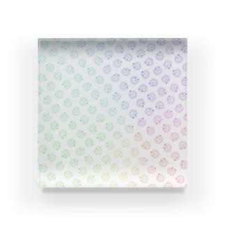 ゲーミングうろぼろすパターン Acrylic Block