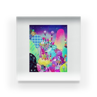 カラーバージョン Acrylic Block