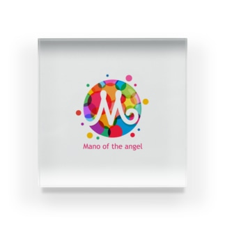 Mano of the angel Acrylic Block