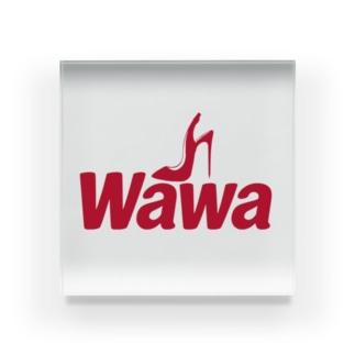 Wawa Company  Acrylic Block