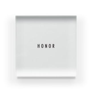 HONORオフィシャルグッズ Acrylic Block