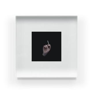 smoker Acrylic Block