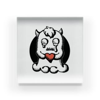 怪物くんの涙 Acrylic Block
