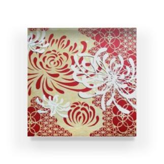 菊の花 Acrylic Block