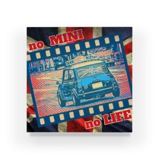 ミニクーパー 「no MINI no LIFE」 Acrylic Block