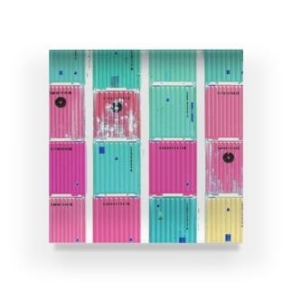 container Acrylic Block