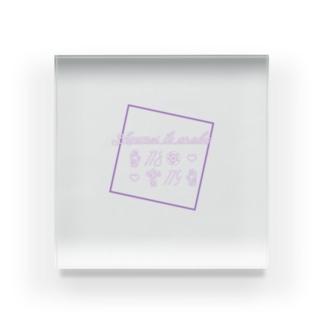 (概念)長谷部の普段使いアイテム Acrylic Block