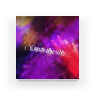 Catch the life. Acrylic Block
