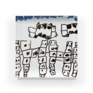 Daughter's drawing 20220307 Acrylic Block