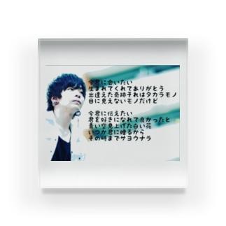 Ⓜ️まーくんⓂ️の介護士まーくんシリーズ(マニアックシリーズ) Acrylic Block
