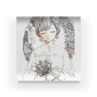 ヴィンテージちゃん Acrylic Block