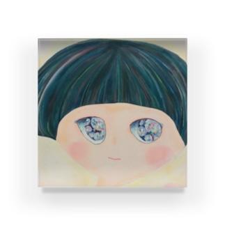きらきらおめめちゃん Acrylic Block