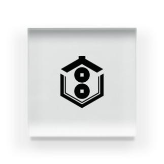 劇団みやもと家紋 Acrylic Block