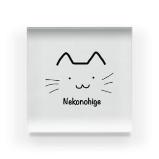 猫のひげオリジナル Acrylic Block
