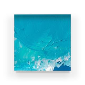 22℃の飛沫 Acrylic Block