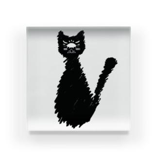 縹猫 Acrylic Block