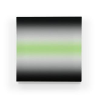 グラデーション プライドフラッグ エイジェンダー Acrylic Block