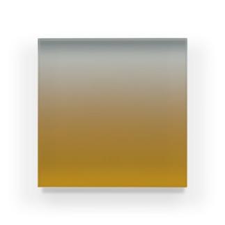 グラデーション Dozing Little Gold Acrylic Block