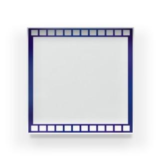 フィルム風アクリルブロック Acrylic Block
