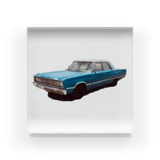 アメリカン車 Acrylic Block