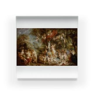 ピーテル・パウル・ルーベンス 《ヴィーナスの饗宴》 Acrylic Block