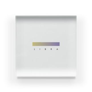 【星座グラデ】天秤座/Libra Acrylic Block