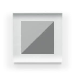 ツートーン Acrylic Block