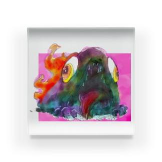 焼き魚ちゃん Acrylic Block