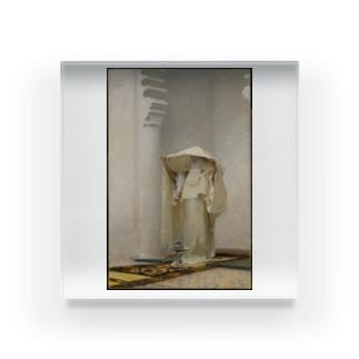 ジョン・シンガー・サージェント《アンバーグリスの煙》1880年 Acrylic Block