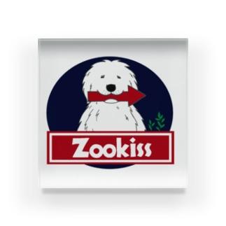 ZOOKISS×グレートピレニーズ Acrylic Block