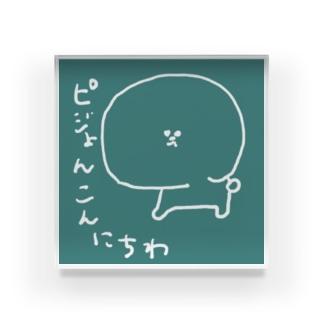 つみれちゃん太郎さん Acrylic Block