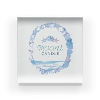 moani 海デザイン Acrylic Block