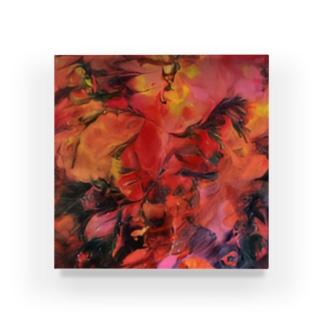 Om Acrylic Block