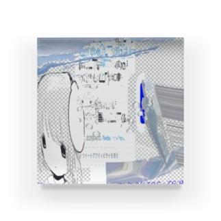 ゆらゆ⠑と卣礼てゐ々⠙⠙⠙ Acrylic Block
