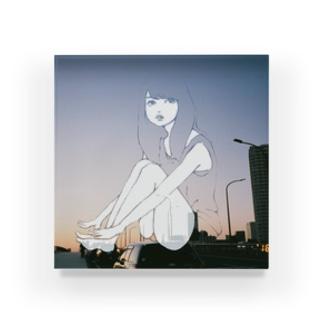 夕日少女 Acrylic Block