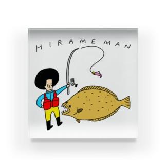 hirameman Acrylic Block