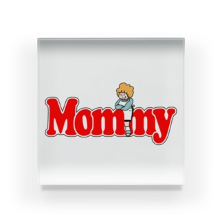 Mommy Acrylic Block