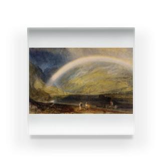 ウィリアム・ターナー《虹》 Acrylic Block