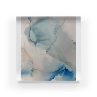 青の風音 Acrylic Block
