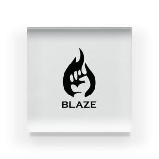 BLAZE Acrylic Block