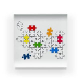 Jigsaw_Puzzle Acrylic Block