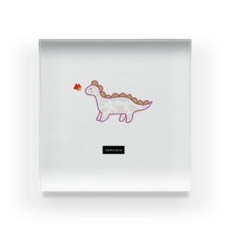 dinosaur Acrylic Block
