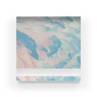 芍薬 Acrylic Block