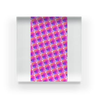 模様215 Acrylic Block